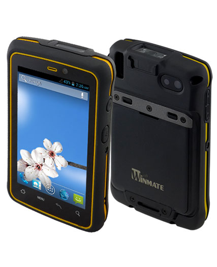 "4.3"" Rugged Handheld PDA"