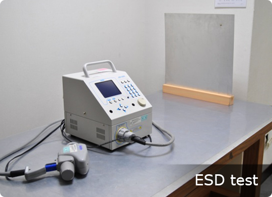 Reliability ESD test